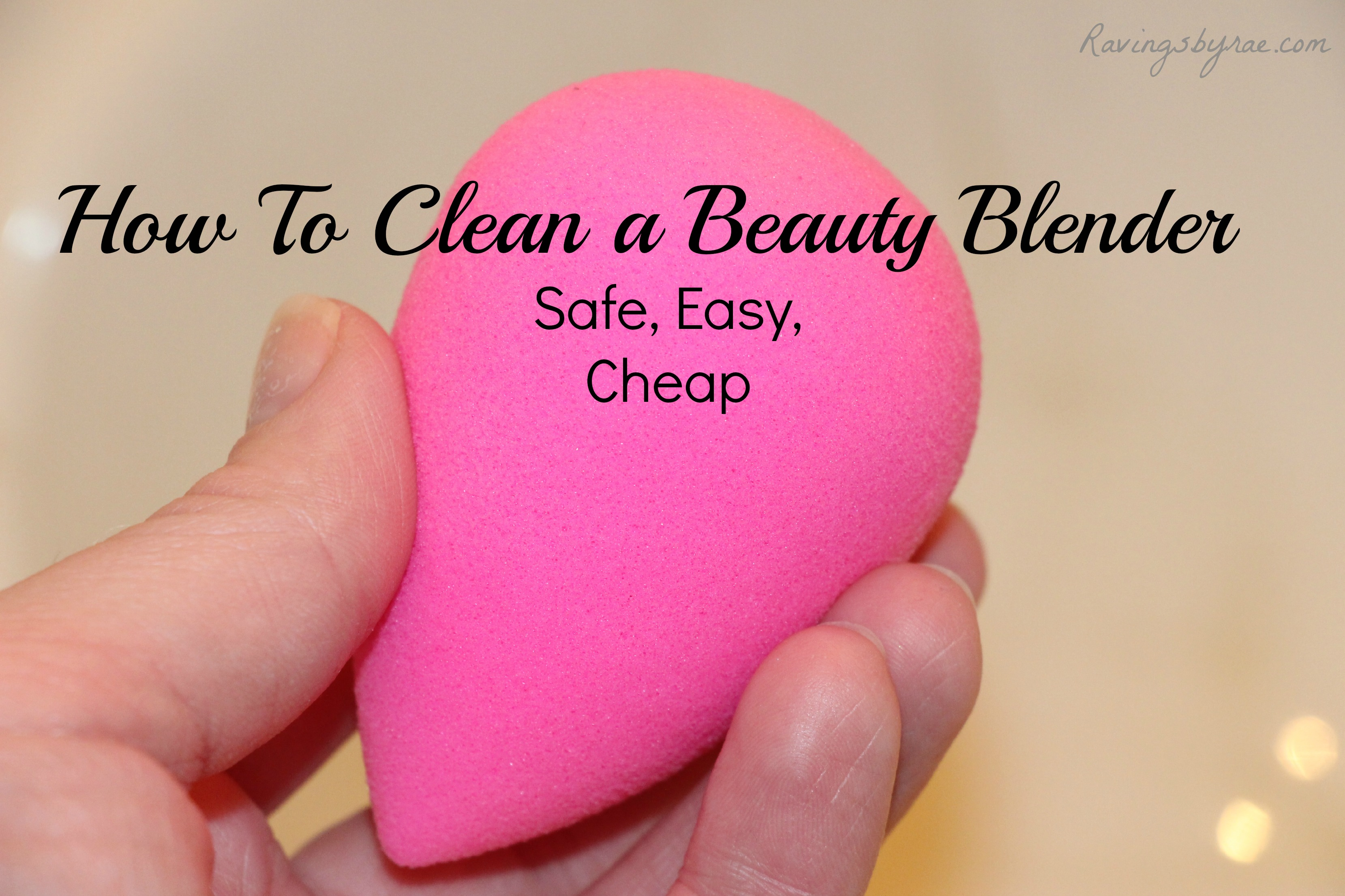 how to use beauty blender cleanser