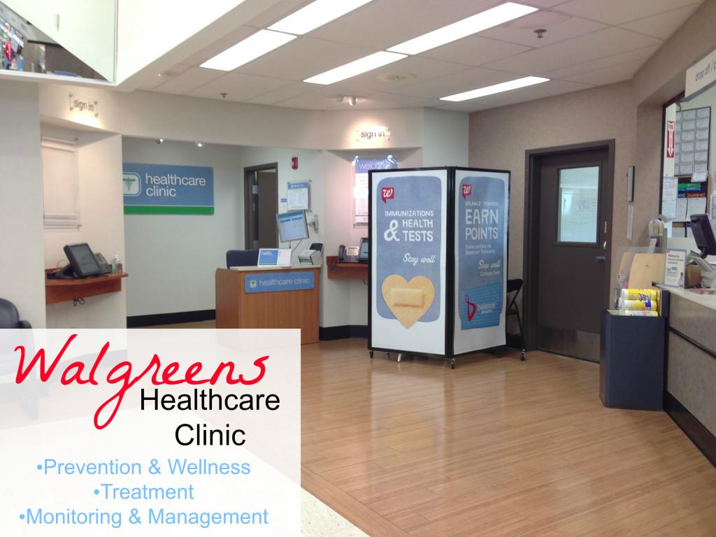Resultado de imagem para walgreens health clinic